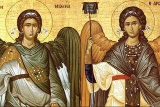 Sfinţii Arhangheli Mihail şi Gavriil, păzitorii oamenilor de la naştere şi până la moarte
