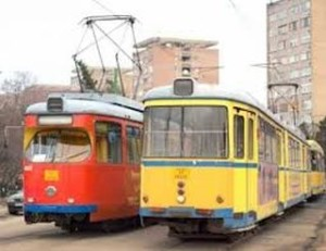 Distrugeri provocate de călători în tramvaiele şi autobuzele din Arad