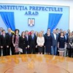 Parlamentarii aleşi în Arad şi-au primit certificatele doveditoare