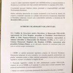 PSD, ALDE şi UDMR au semnat protocolul de colaborare parlamentară