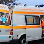 Femeie cu copil în brațe, loviți de o mașină pe o trecere de pietoni din Arad