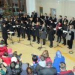 Concert de colinde în Stația CFR din Arad