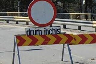 Drumul dintre Frumușeni și Aluniș, închis. O viitură a distrus șoseaua