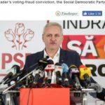 The Economist: România a ales un partid condus de o persoană condamnată