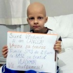 Apel umanitar. La doar 8 ani, Vladimir duce o luptă între viaţă şi moarte