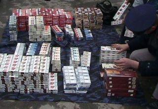 Contrabandă cu țigări. Patru bărbați au fost arestați