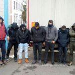 Șase migranți ascunși într-un TIR, depistați la Nădlac