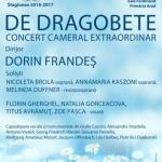 Concert cameral extraordinar, în sala Regele Ferdinand. PROGRAM