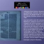 Cea mai veche carte de la Biblioteca A.D. Xenopol, tipărită în 1481