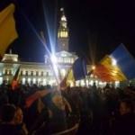 Arădenii cer demisia Guvernului Grindeanu