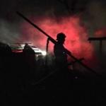 Căsuțe din lemn de la Ștrandul Neptun, incendiate