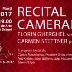 "Recital cameral romantic, la Colegiul de Arte ""Sabin Drăgoi"""