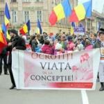 """""""Unic din prima secundă"""". Marș pentru viață, organizat la Arad"""