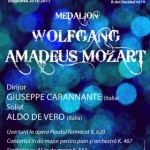 Medalion Mozart, la Filarmonica de Stat Arad
