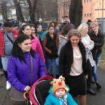 Protest la Spitalul Județean față de cum sunt tratați copiii