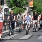 Proiect de modificare a Codului rutier. Amenzi mai mici pentru biciclişti