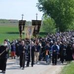 """Procesiunea ,,Drumul Crucii"""" la Mănăstirea Hodoş-Bodrog"""