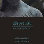 """""""Despre rău"""". Festival de științe umaniste, la Arad"""