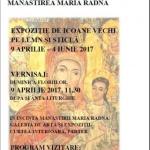 Expoziție de icoane vechi pe lemn și sticlă, la Mănăstirea Radna
