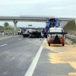 UPDATE Carambol pe A1 Arad – Pecica. Patru persoane rănite