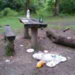Cum ajung gunoaiele în pădure. Episod nou