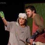 Actrița Maia Morgenstern revine pe scena Teatrului de Vară Arad