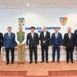 Opt președinți de consilii județene din România și Ungaria, la Arad