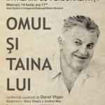 """Dorel Vişan aduce """"Omul şi taina lui"""" la Arad"""