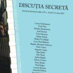 Discuția secretă – Festival arădean de literatură. PROGRAM