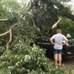 UPDATE O furtună a provocat pagube în municipiul și județul Arad