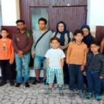 Nouă migranţi şi o călăuză, depistaţi la Vărşand