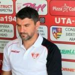 Adrian Mihalcea a condus primul antrenament la UTA