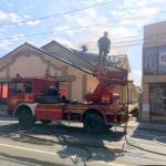 Incendiu la o casă funerară din Arad