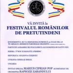 Festivalul Românilor de Pretutindeni, organizat la Arad