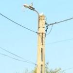 Electrocutat mortal pe un stâlp de iluminat din Macea