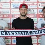 Cristian Scutaru a devenit jucătorul UTA-ei