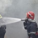 UPDATE Incendiu la depozitul Remat din Frumușeni