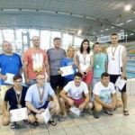 Premii pentru reprezentanții ISU Arad la Campionatul de înot al MAI