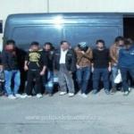 18 migranți din Siria și Irak, reținuți la Nădlac