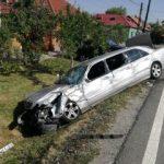 Accident pe DN 79. Şapte răniţi, între care cinci copii