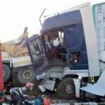 Accident pe autostrada Arad-Timișoara. Doi șoferi au murit