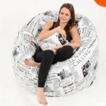 Fotoliul puf – piesa de mobilier care se potrivește în orice loc