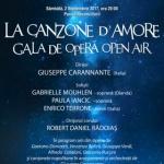 """""""La canzone d'Amore"""". Gala de Operă Open Air, în Parcul Reconcilierii"""