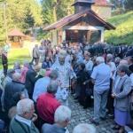 Înălţarea Sfintei Cruci, sărbătorită la Mănăstirea Feredeul din Deal