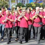 Fanfare din Arad și Ungaria cântă în Parcul Reconcilierii