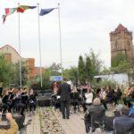 Fanfare din Arad și Ungaria au cântat în Parcul Reconcilierii