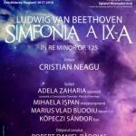 Deschiderea stagiunii la Filarmonica de de Stat Arad: Simfonia a IX-a de Beethoven