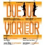 """Concertul itinerant """"Duelul viorilor"""" va ajunge și la Arad. PROGRAM"""