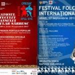 """""""Maratonul cântecului şi dansului popular sârbesc"""" şi """"Festival Folcloric Internaţional"""", la Arad"""