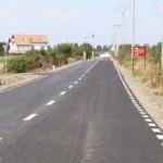 Consiliul Judeţean Arad realizează marcaje rutiere în tot judeţul